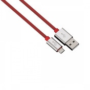 Hama Charging/Sync Cable Micro USB Aluminium 1m (Red)