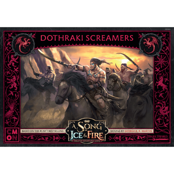 A Song Of Ice and Fire  Targaryen Dothraki Screamers Expansion