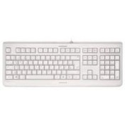 Cherry KC 1068 Wired USB Keyboard Pale Grey UK Layout