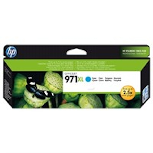 HP CN626AE (971XL) Ink cartridge cyan, 6.6K pages, 87ml