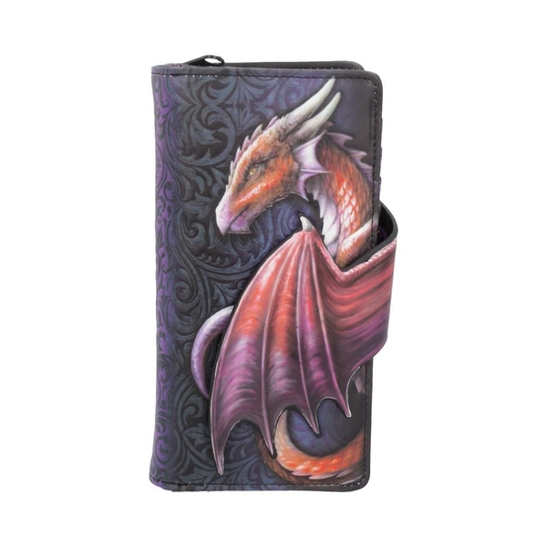 Take Flight Dragon Embossed Purse