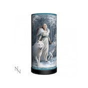 Winter Guardians Wolves Lamp UK Plug