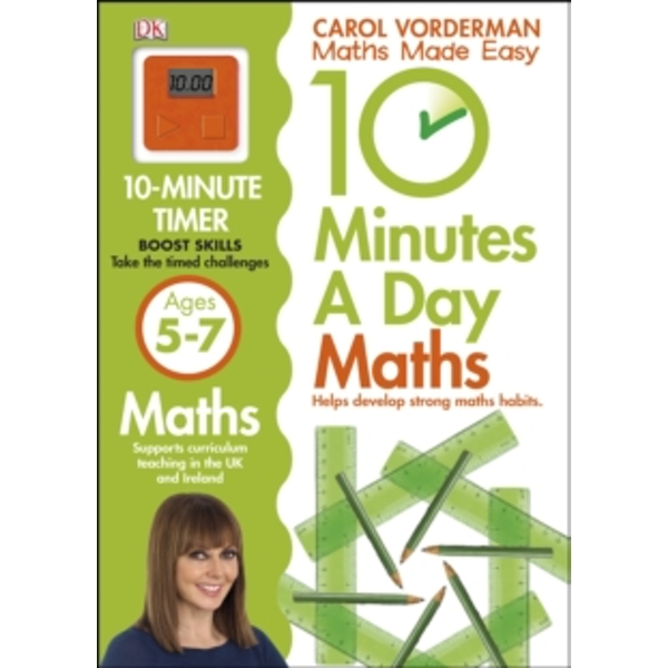 10 Minutes a Day Maths Ages 5-7 by Carol Vorderman (Paperback, 2013)