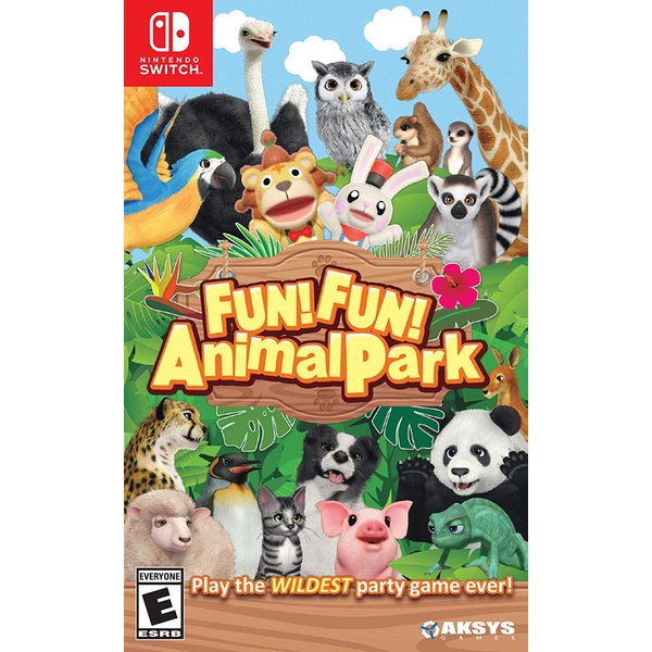 FUN! FUN! Animal Park Nintendo Switch Game