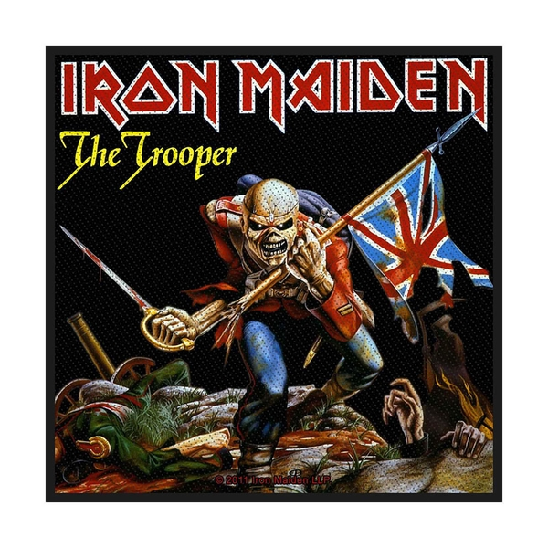Iron Maiden - The Trooper Standard Patch