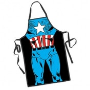 Captain America Be the Hero Apron