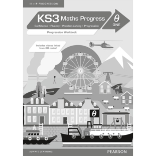 KS3 Maths Progress Progression Workbook Theta 1
