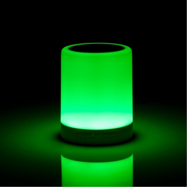 Wireless Speaker With Colour Changing Touch Lamp UK Plug - Image 5