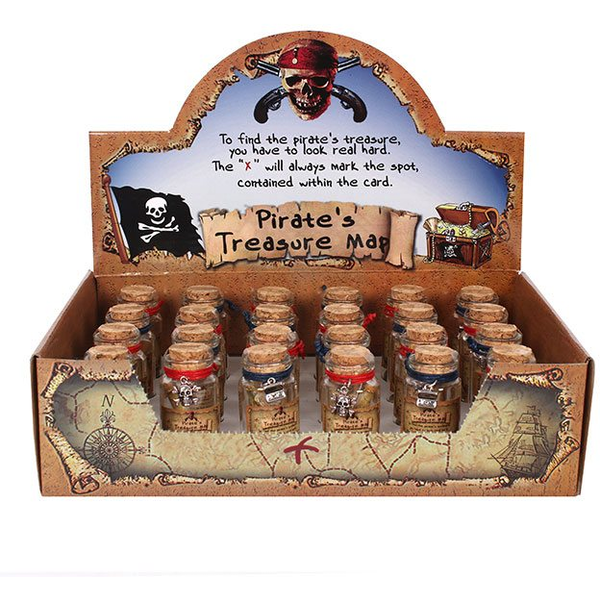 Pirate Wishes In A Jar Pack Of 24