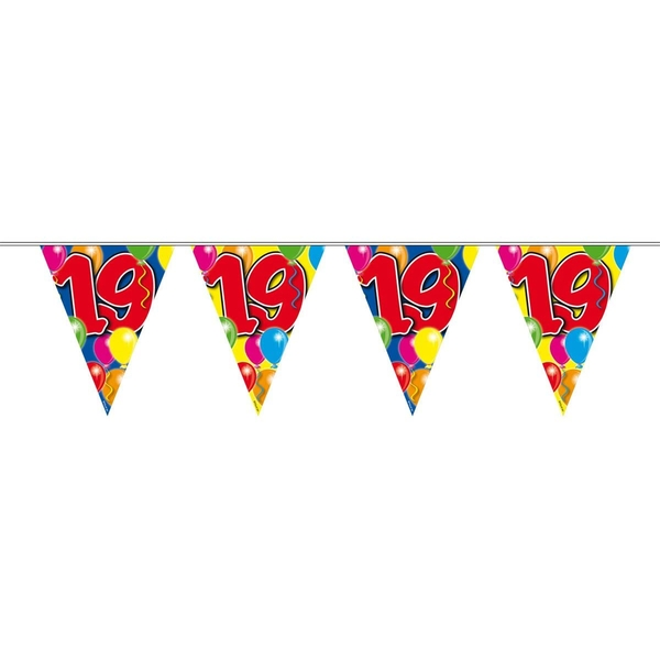 19th Birthday Balloons Garland Party Decoration