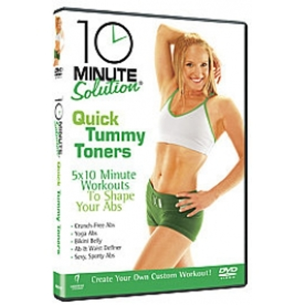 10 Minute Solution Quick Tummy Toners DVD