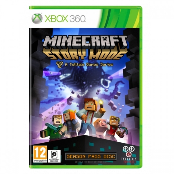 (Pre-Owned) Minecraft Story Mode A Telltale Games Series Xbox 360 Game Used - Like New