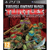 TMNT Teenage Mutant Ninja Turtles Mutants in Manhattan PS3 Game