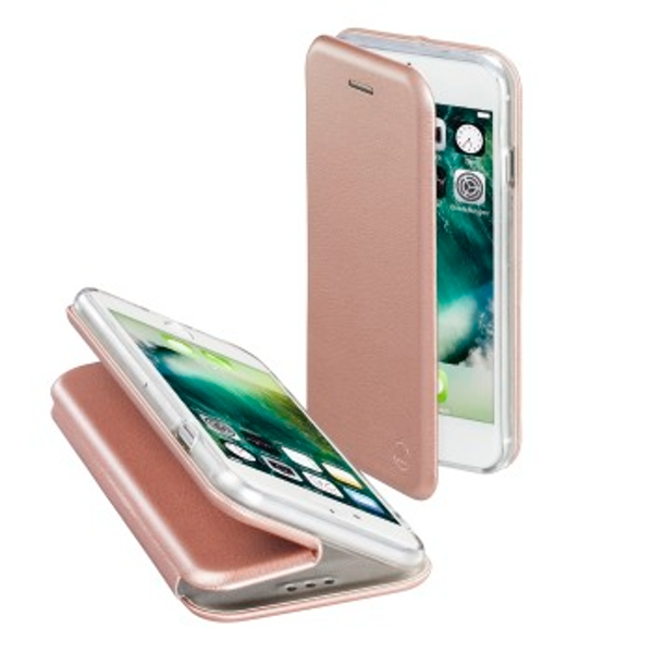 "Hama ""Curve"" Booklet Case for Apple iPhone 7/8, rose gold"