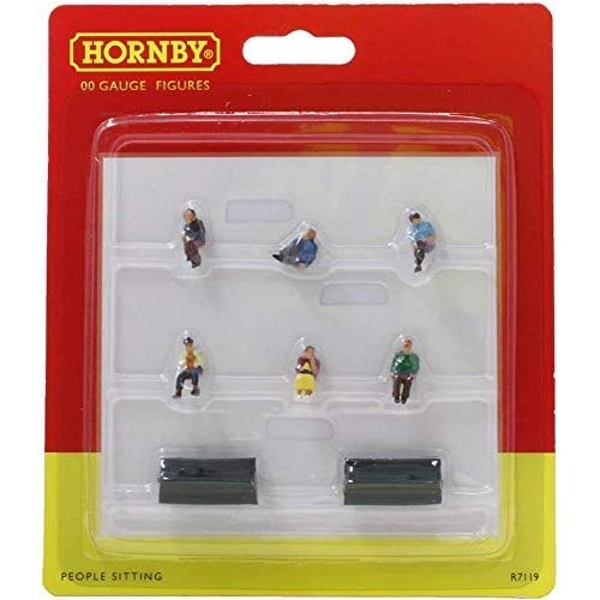 Hornby Sitting People Model