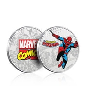 Marvel Spider-Man Collector's Limited Edition Coin (Silver)