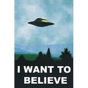 X Files I Want To Believe Maxi Poster