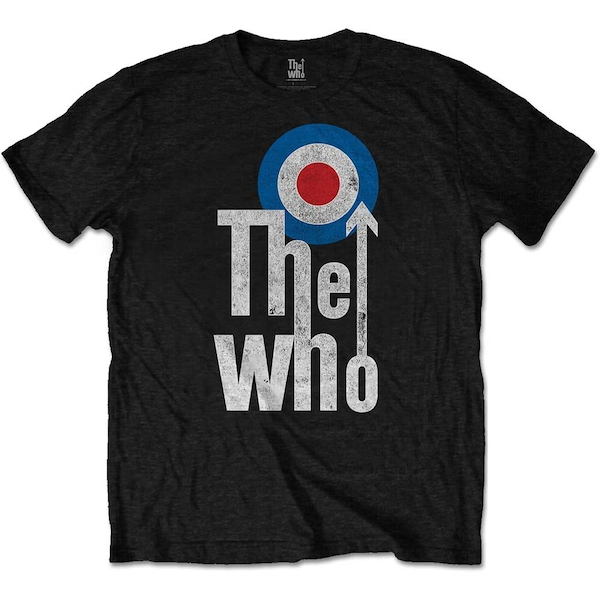 The Who - Elevated Target Unisex Large T-Shirt - Black