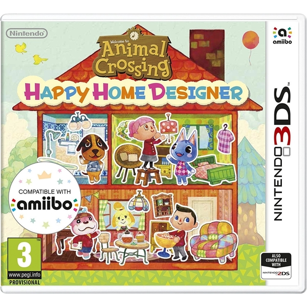 Animal Crossing Happy Home Designer 3DS Game - Image 1
