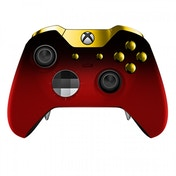Ex-Display Red Shadow & Gold Edition Xbox One Elite Controller Used - Like New