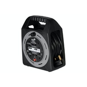 SMJ Electrical 15m 4 Socket Easy Wind Compact Extension Cable Reel UK Plug