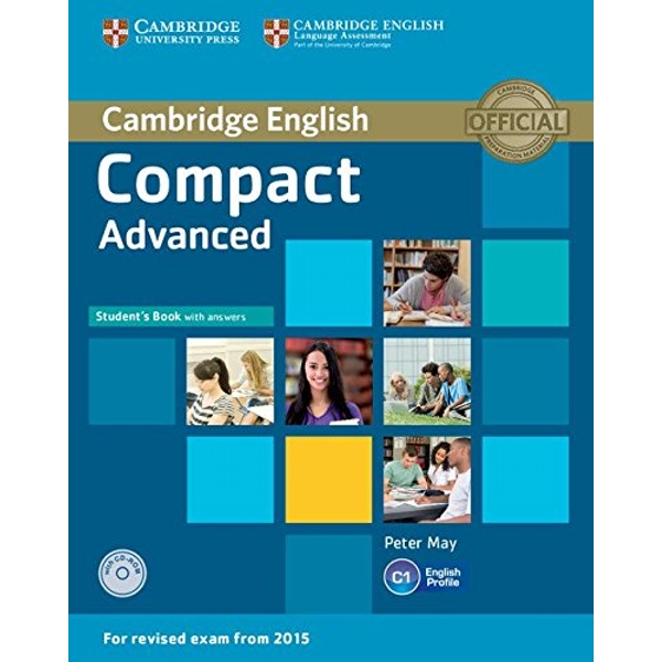 Compact Advanced Student's Book with Answers with CD-ROM  Mixed media product 2014