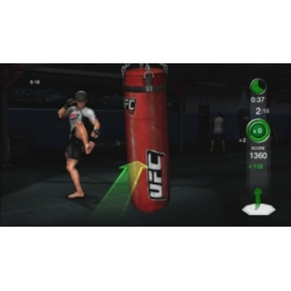UFC Personal Trainer Includes Leg Strap (Move Compatible) Game PS3 - Image 2