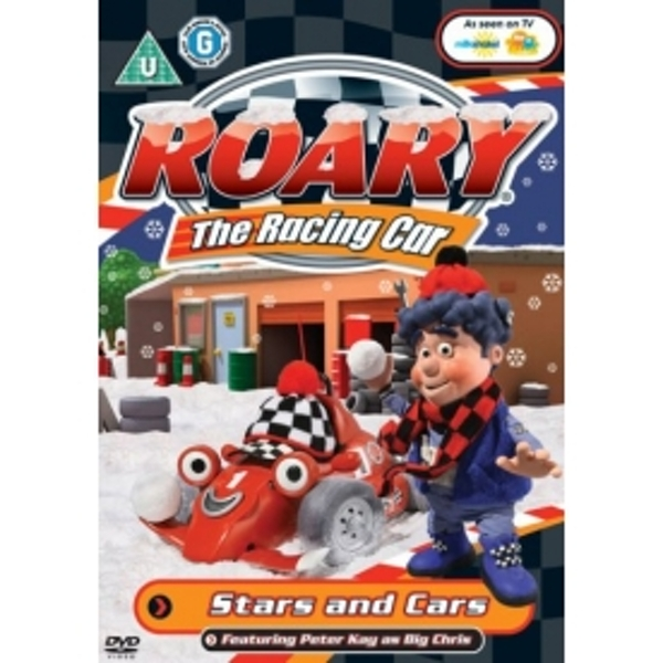 Roary the Racing Car: Stars and Cars DVD