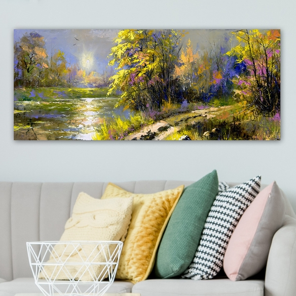 YTY235131502_50120 Multicolor Decorative Canvas Painting