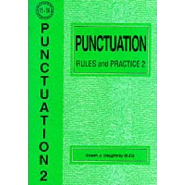 Punctuation Rules and Practice: No. 2 by Susan J. Daughtrey (Paperback, 1995)