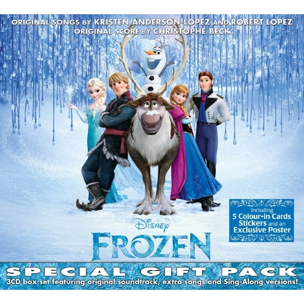 Disney Frozen Special Gift Pack CD - Image 1