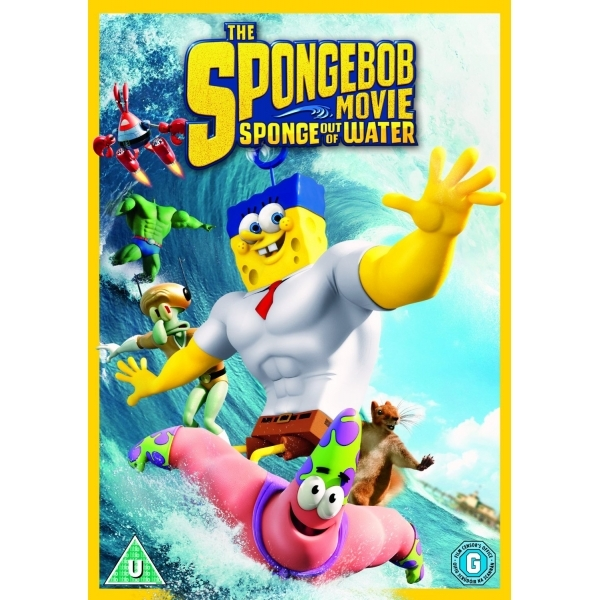The Spongebob Movie Sponge Out of Water DVD
