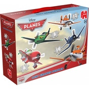Disney Planes 4-in-1 Shaped Jigsaw Puzzles