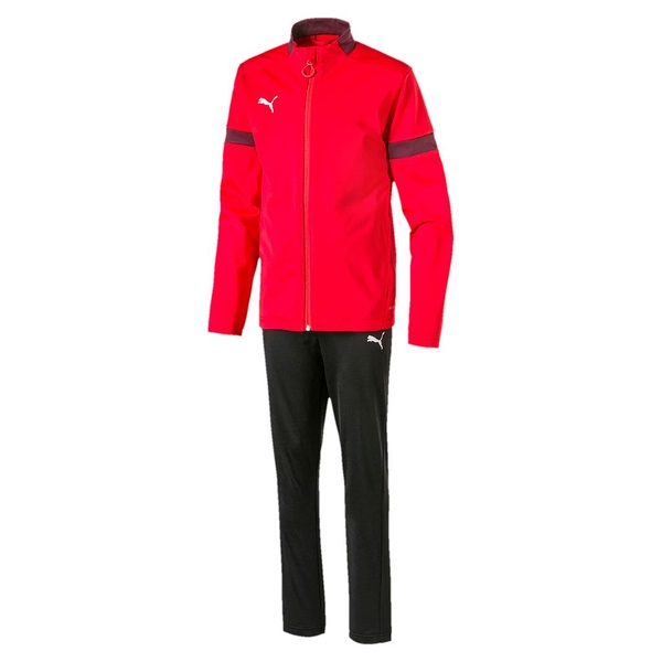 Puma ftblPLAY Tracksuit Red/Burgundy - Medium