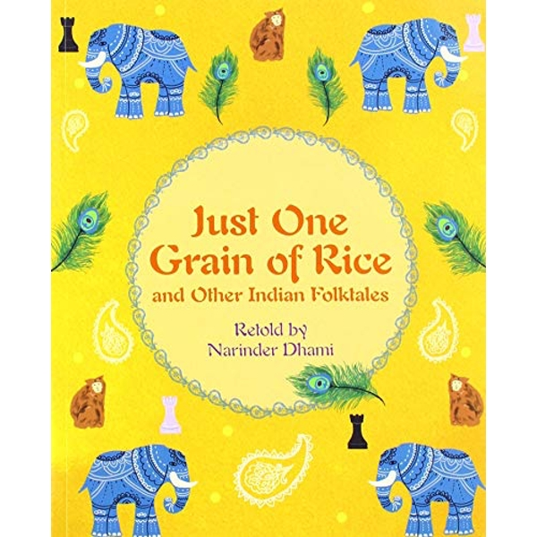Reading Planet KS2 - Just One Grain of Rice and other Indian Folk Tales - Level 4: Earth/Grey band  Paperback / softback 2019