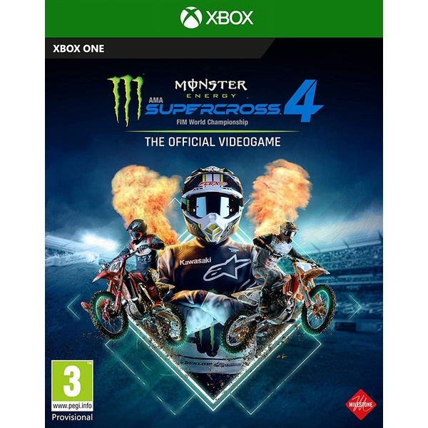 Monster Energy Supercross The Official Videogame 4 Xbox One Game