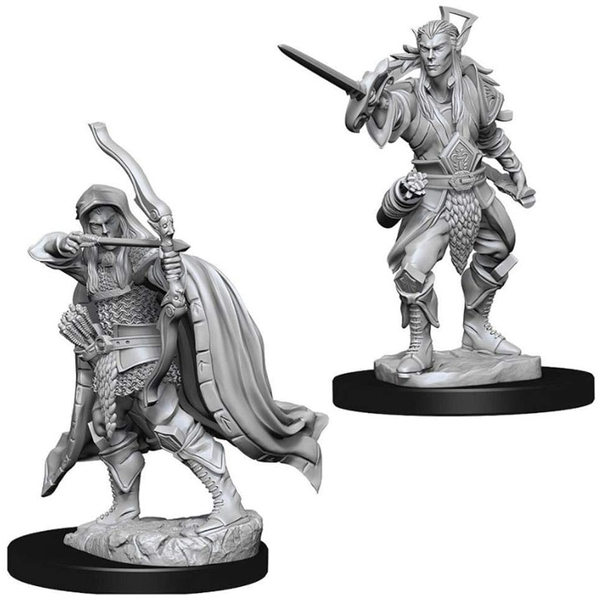 D&D Nolzur's Marvelous Unpainted Miniatures (W7) Male Elf Rogue