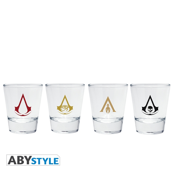 Assassin's Creed - Shot Glass Emblems Shot Glass