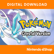 Pokemon Crystal (Download Code) 3DS Game Digital Download for Nintendo eShop