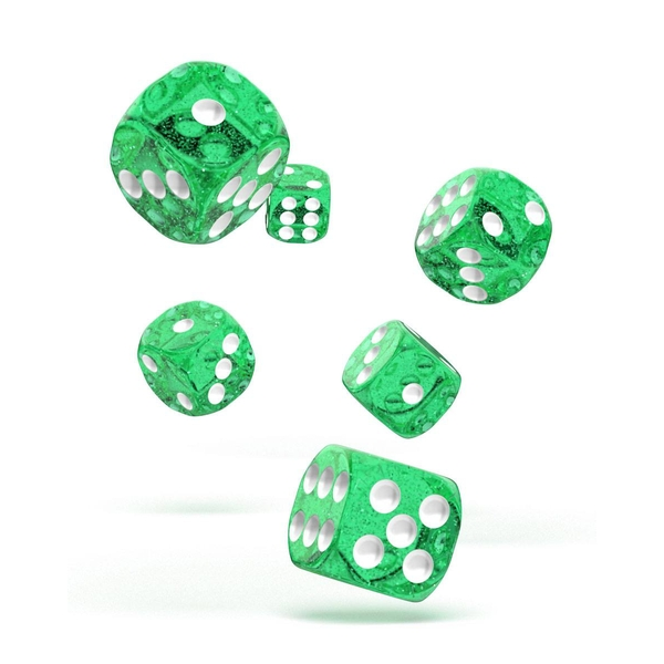 Oakie Doakie Dice D6 (Speckled Green)