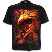 Phoenix Arisen Men's Medium T-Shirt - Black