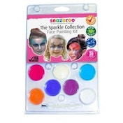 Snazaroo Sparkle Face Paint Clam Pack