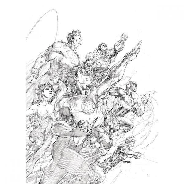 Justice League  Unwrapped: By Jim Lee Hardcover