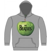 The Beatles Apple Hooded Top Grey: XXL