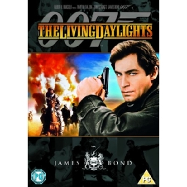 Bond Remastered The Living Daylights DVD
