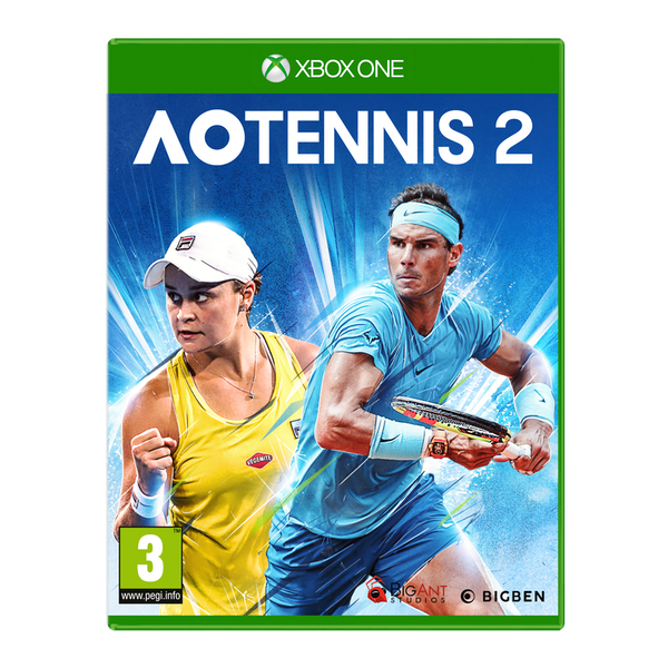 AO Tennis 2 Xbox One Game - Image 1