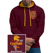 Harry Potter - House Gryffindor Men's XX-Large Hoodie - Red