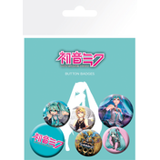 Hatsune Miku Mix Badge Pack