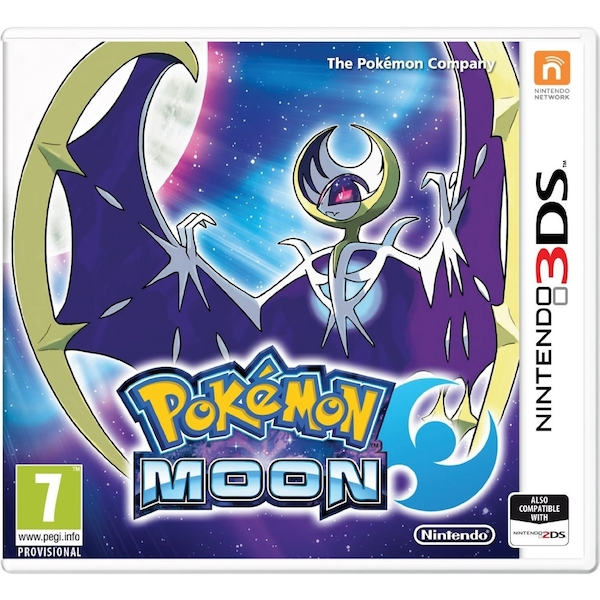 Pokemon Moon 3DS Game - Image 1