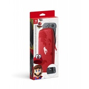 Nintendo Switch Accessory Set (Carrying Case + LCD Protection Sheet) Mario Odyssey Edition
